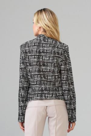 Jacket 511 print zwart