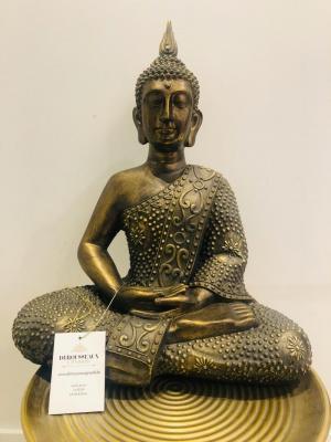 Brons Buddha logo