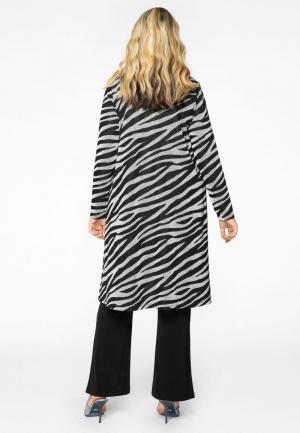 Cardigan zebra 210/print lurex