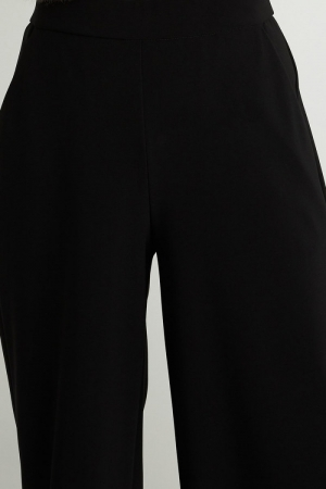 Broek stretch, wijd model 11 BLACK